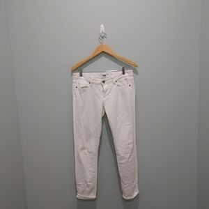 Paige womens white jeans size 29